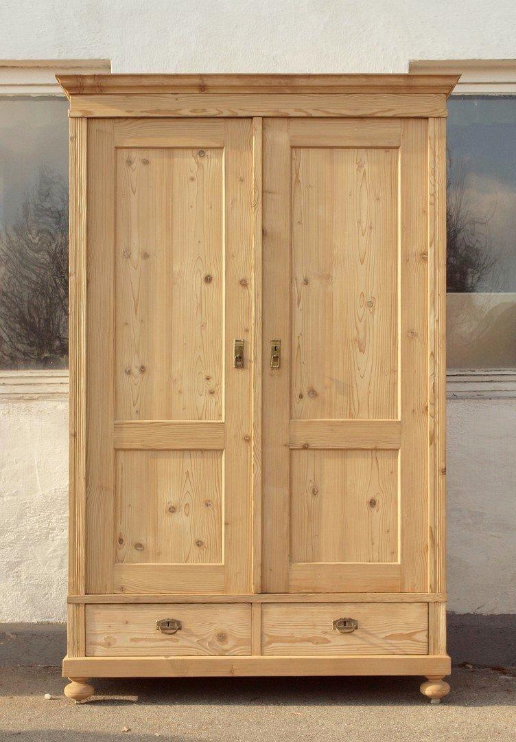 zerlegbarer ungewachster schrank abgelaugt und restauriert antik m bel antiquit ten alling bei. Black Bedroom Furniture Sets. Home Design Ideas