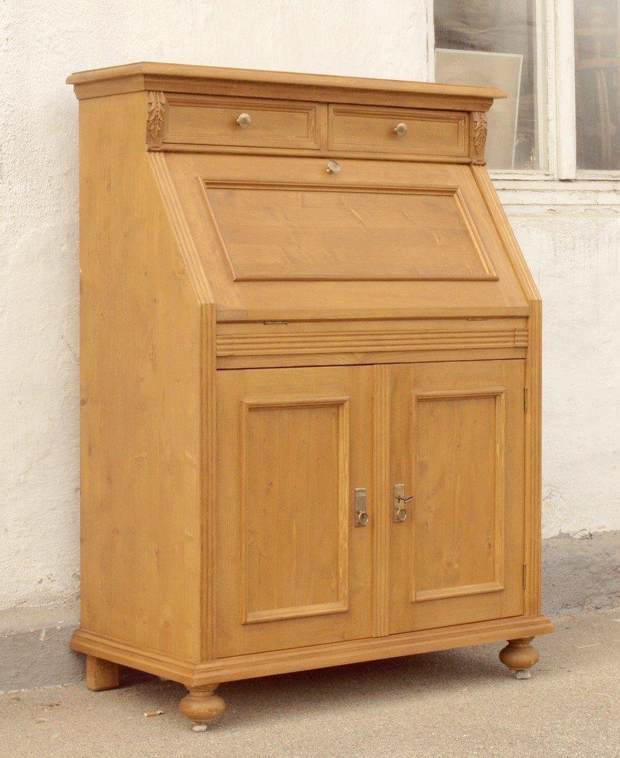 sekret r im gr nderzeitstil bauernm bel fichte massivholz antik m bel antiquit ten alling bei. Black Bedroom Furniture Sets. Home Design Ideas