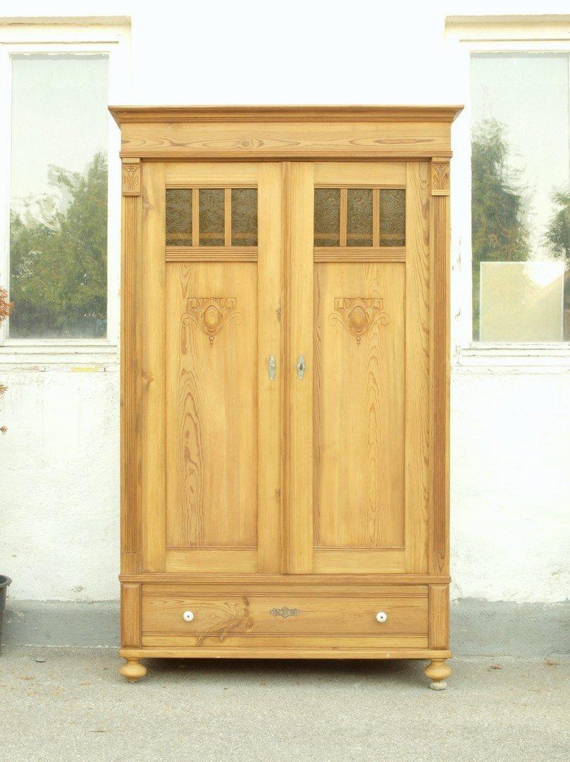 bauernschrank kleiderschrank fichte massiv antik antik m bel antiquit ten alling bei. Black Bedroom Furniture Sets. Home Design Ideas