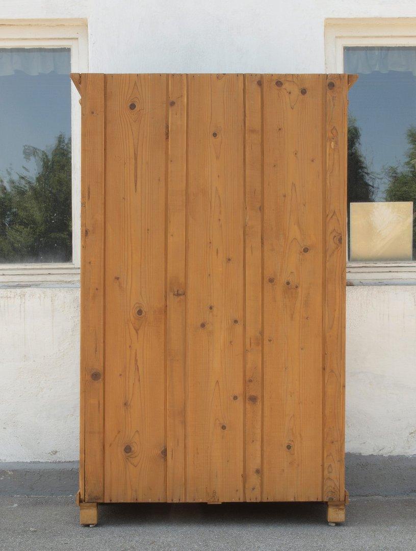 alter antiker restaurierter 2 t riger kleiderschrank massiv fichte um 1870 antik m bel. Black Bedroom Furniture Sets. Home Design Ideas