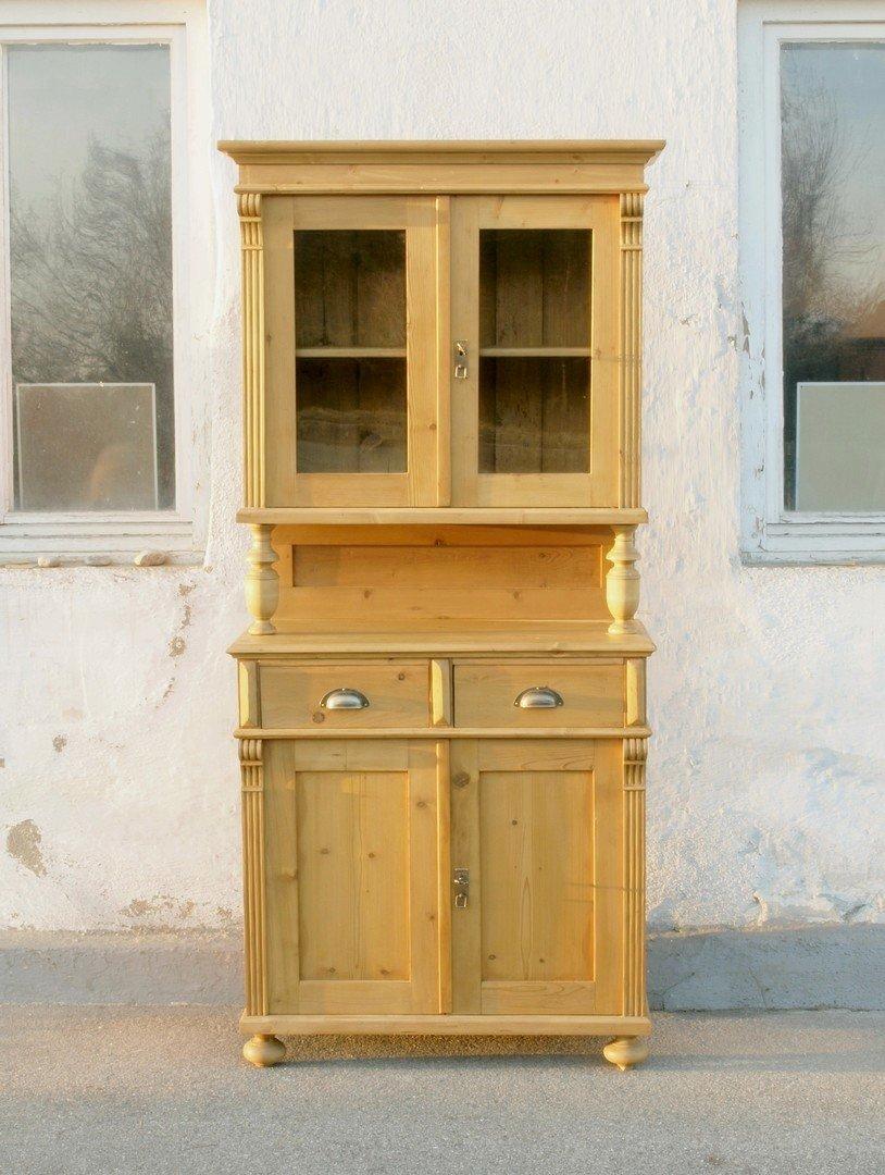 b086 k chenbuffet bauernbufett k chenschrank im. Black Bedroom Furniture Sets. Home Design Ideas
