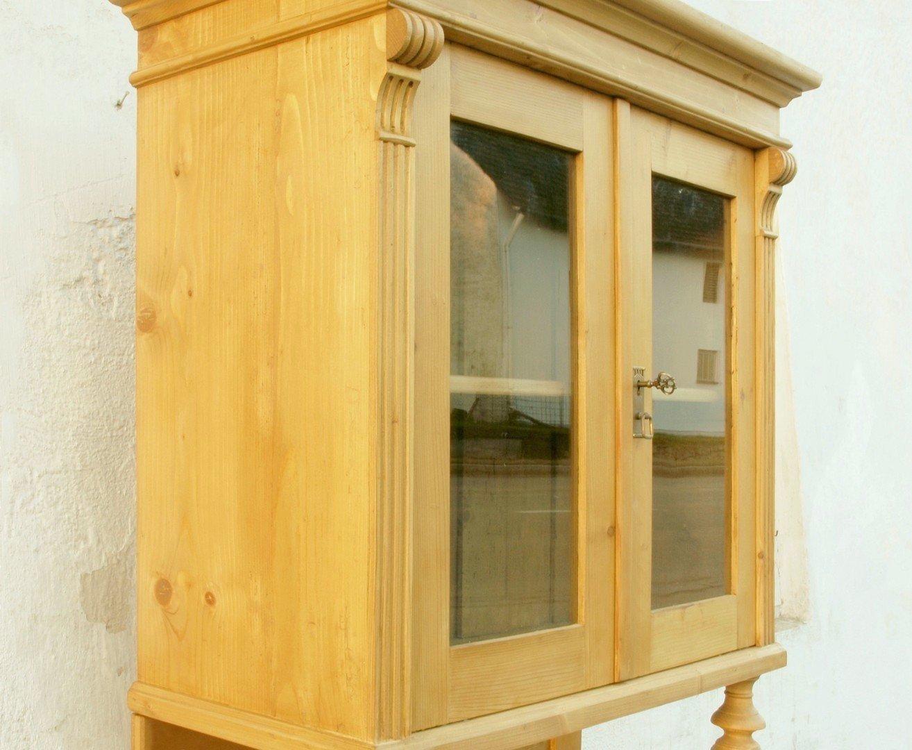 b086 k chenbuffet bauernbufett k chenschrank im gr nderzeitstil fichtenholz 86 cm antik m bel. Black Bedroom Furniture Sets. Home Design Ideas