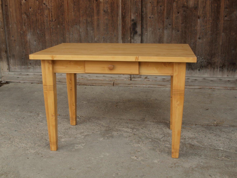 Esstisch Tisch Massivholz Fichte 120 x 80 cm  ~ Esstisch Fichte
