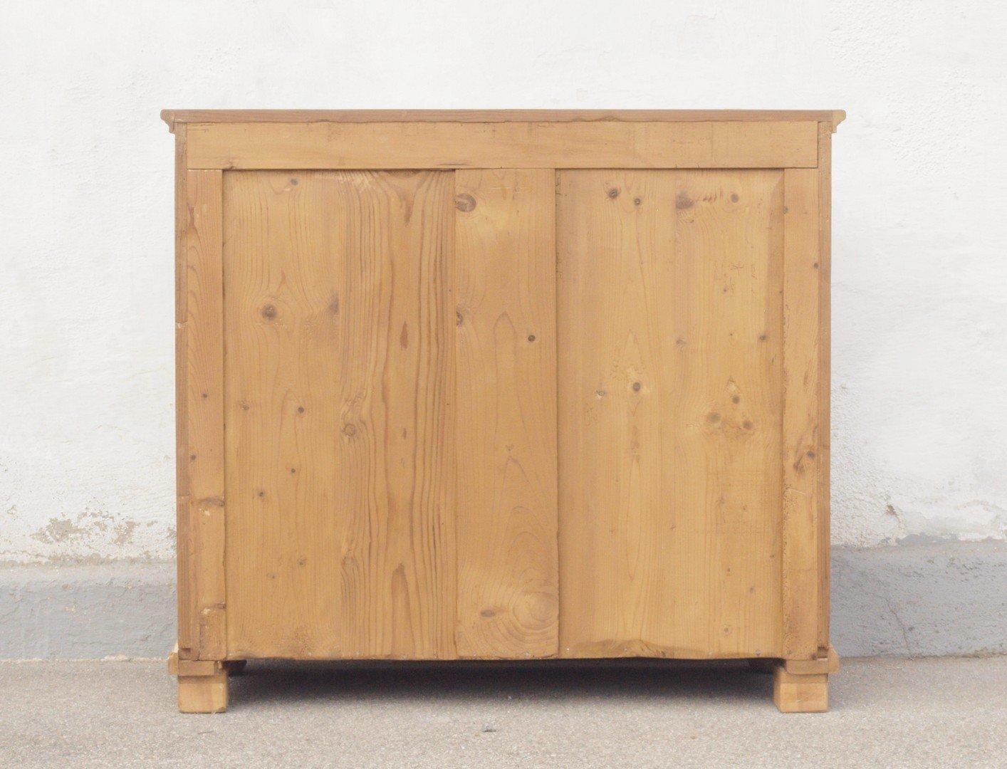 alter antiker kleiner brotschrank mit 3 schubladen und. Black Bedroom Furniture Sets. Home Design Ideas