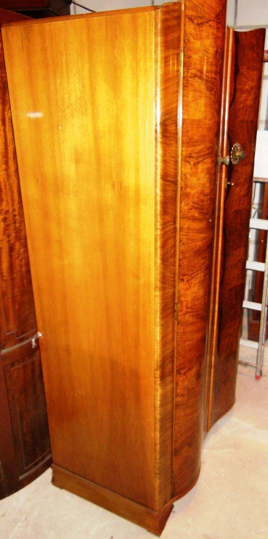 art deco kleiderschrank nu baum england um 1920 25 antik m bel antiquit ten alling bei m nchen. Black Bedroom Furniture Sets. Home Design Ideas