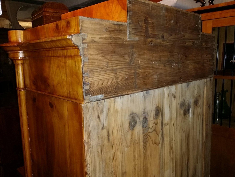 deutscher sekret r schreibschrank kirschbaum zerlegbar um. Black Bedroom Furniture Sets. Home Design Ideas