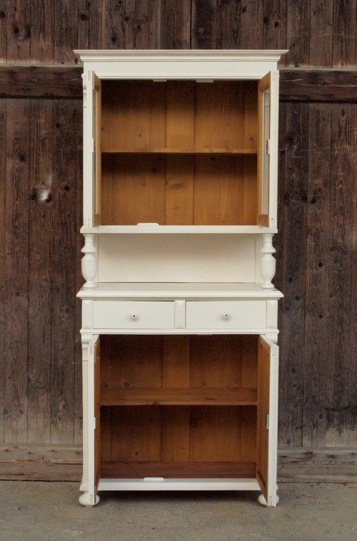 b088 fichtenholz k chenbuffet shabby chic k chenschrank bauernb fett weichholzm bel 87 5 cm. Black Bedroom Furniture Sets. Home Design Ideas