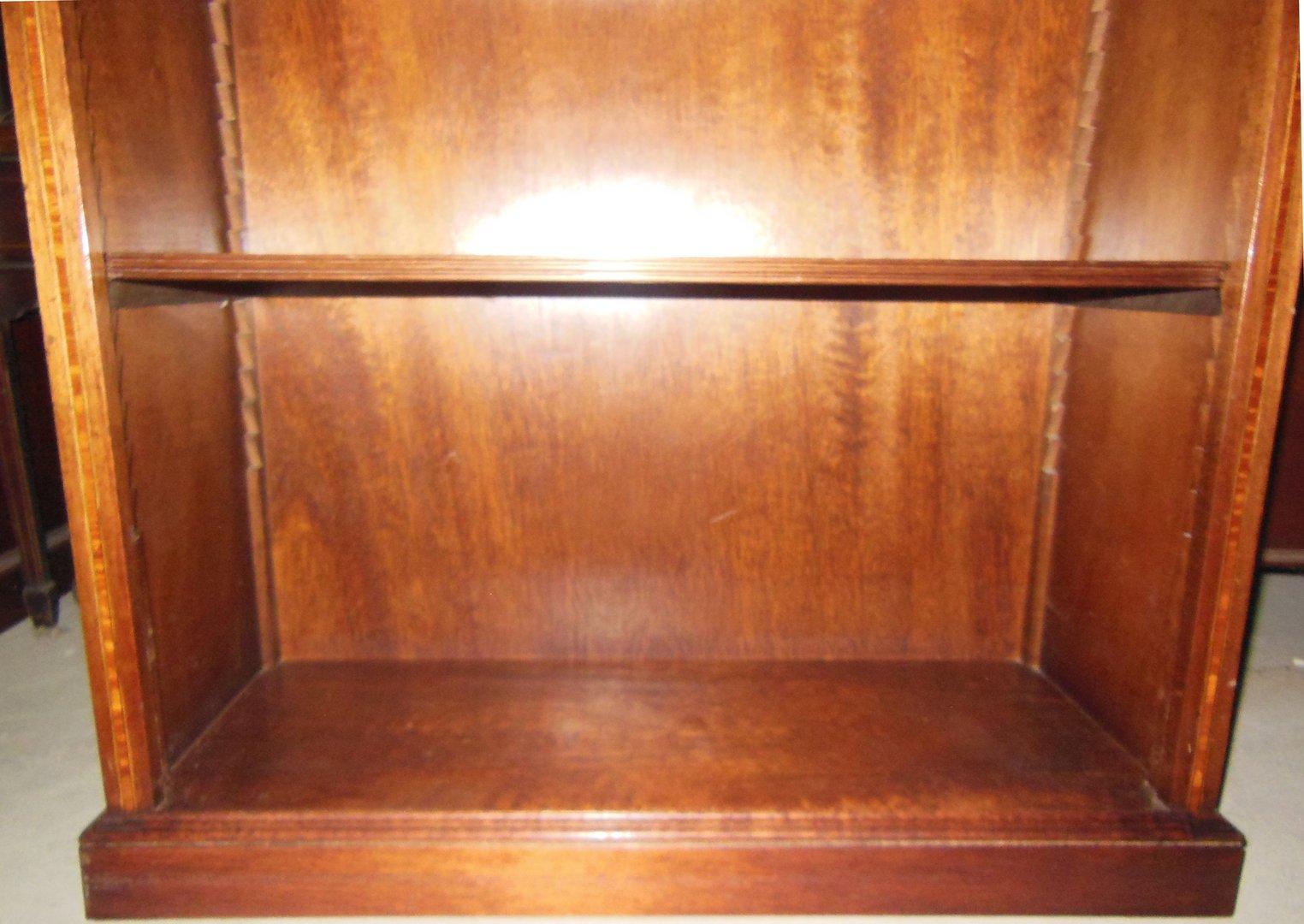 b cherregal aktenregal mahagoni furniertes regal englisches stil regal antik m bel. Black Bedroom Furniture Sets. Home Design Ideas