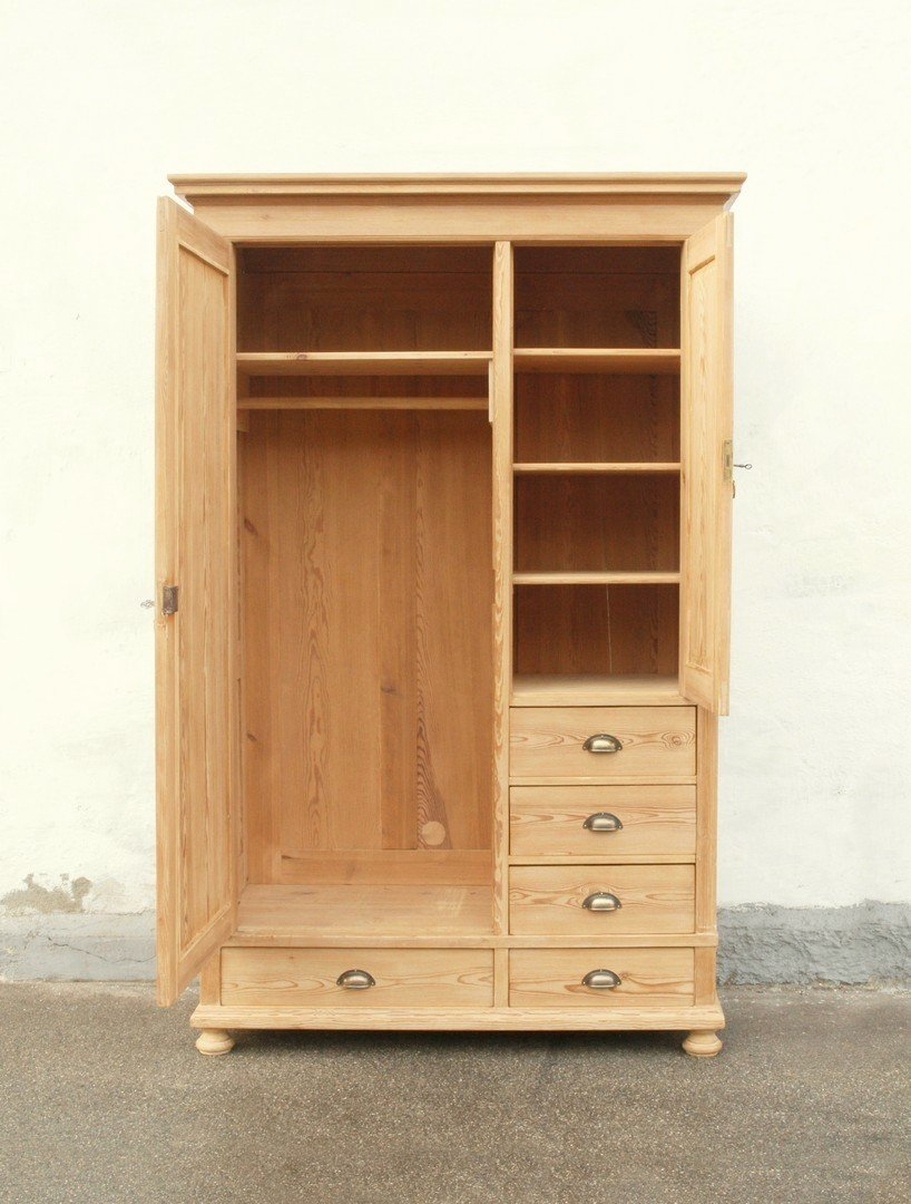 alter antiker bauernschrank bauernm bel massive fichte zerlegbar. Black Bedroom Furniture Sets. Home Design Ideas