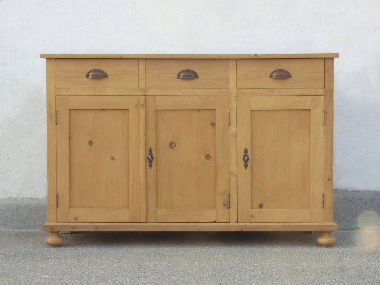 a129t anrichte kommode bauernkommode weichholz. Black Bedroom Furniture Sets. Home Design Ideas