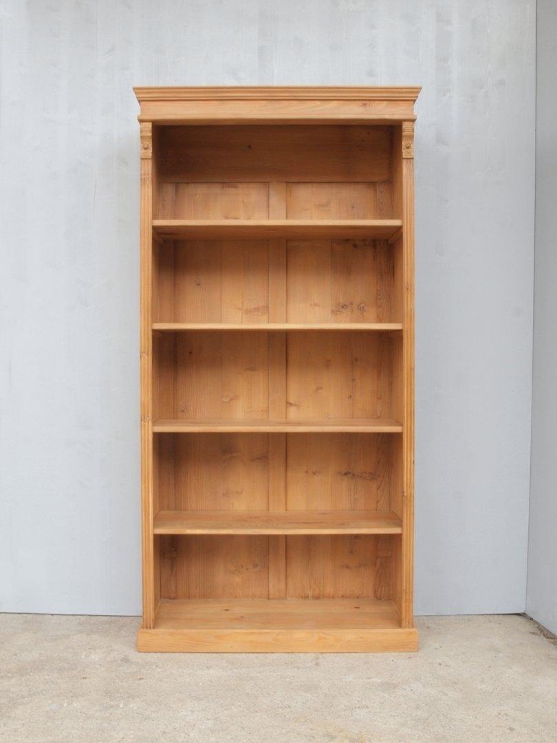 0 pre99 34 99 cm langes bauernregal fichtenholz regal im gr nderzeit stil nachbau antik m bel. Black Bedroom Furniture Sets. Home Design Ideas