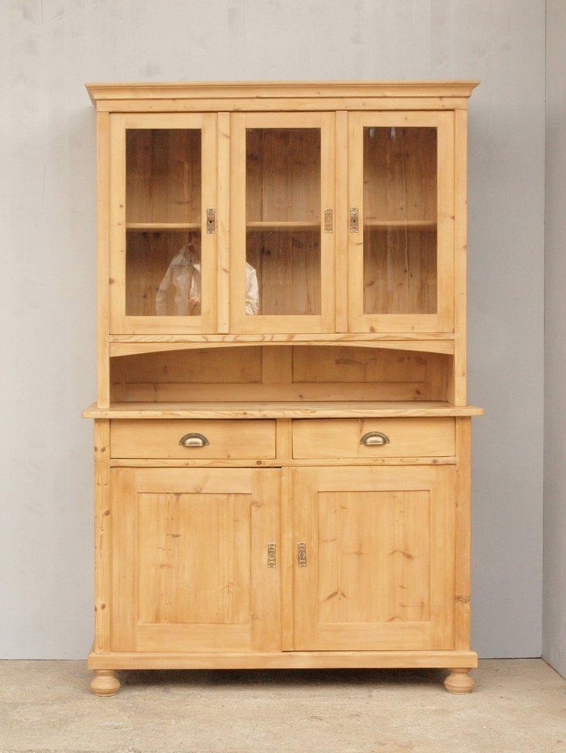 altes fichtenholz k chenbuffet k chenschrank bauernbuffet weichholzm bel alt antik 125cm antik. Black Bedroom Furniture Sets. Home Design Ideas