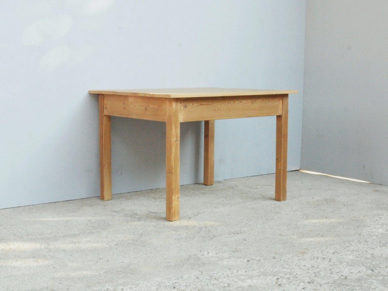 Beistelltisch antik fichte  Beistelltisch Tisch Massivholz Fichte 75,5 x 61,5 cm - Antik Möbel ...