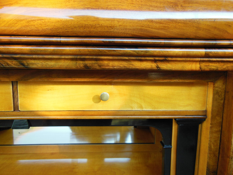 biedermeier sekret r schreibschrank nu baum furniert um 1840 antik m bel antiquit ten alling. Black Bedroom Furniture Sets. Home Design Ideas