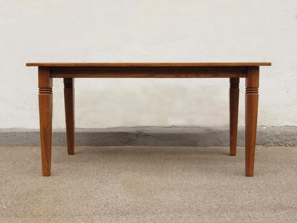 Esstisch Eiche Antik : Esstisch Tisch Massivholz Eiche 160 x 90 cm quadratische Füße ...