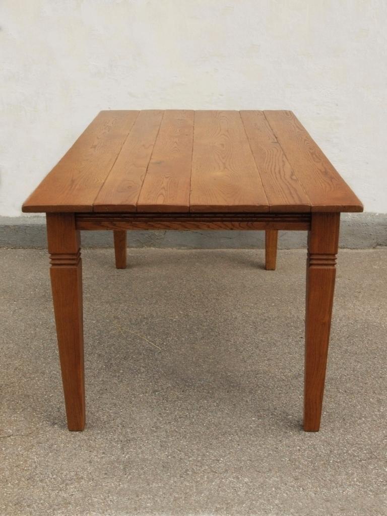 Esstisch Tisch Massivholz Eiche 160 x 90 cm quadratische