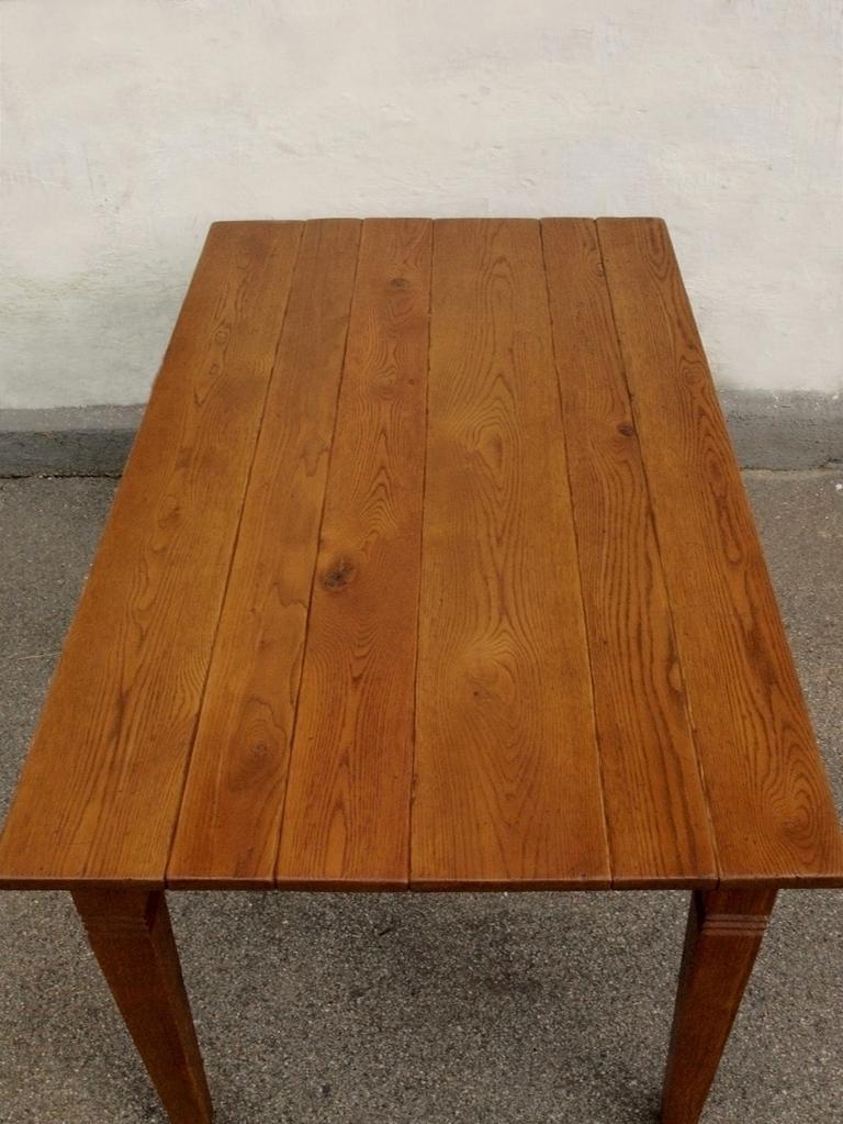 Esstisch tisch massivholz eiche 160 x 90 cm quadratische for Esstisch 70 x 90