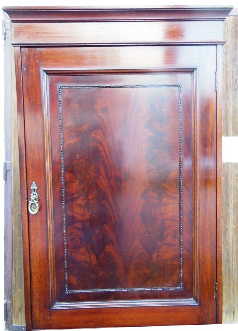 Schmaler englischer kleiderschrank mahagoni um 1890 1900 - Kleiderschrank englisch ...