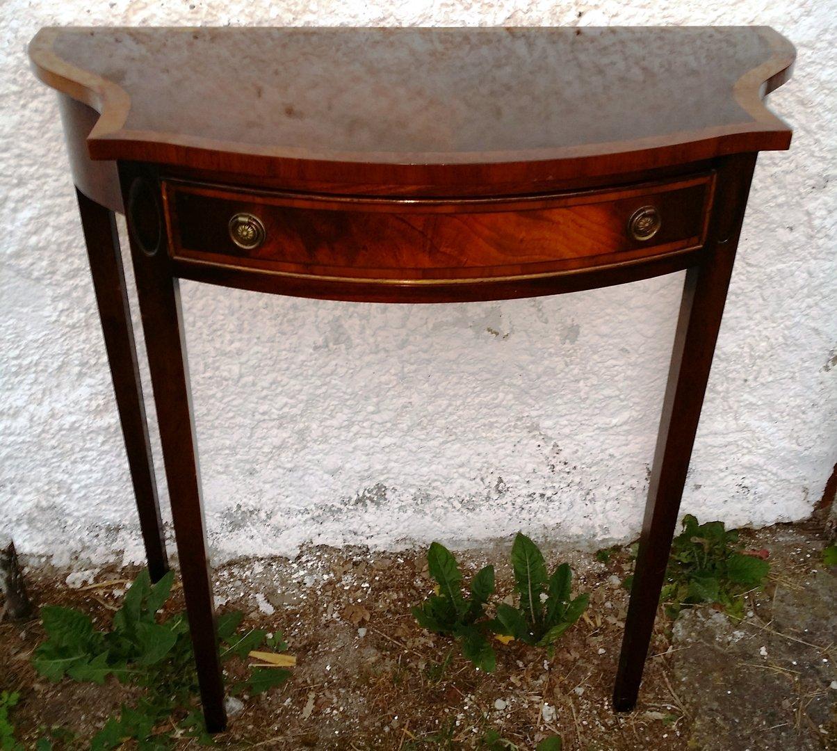 englische mahagoni konsole georgian style antik m bel antiquit ten alling bei m nchen zwischen. Black Bedroom Furniture Sets. Home Design Ideas
