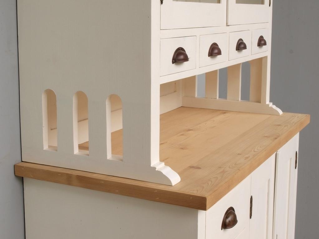b099 buffet geschirrschrank anrichte k chenschrank shabby chic 102cm antik m bel antiquit ten. Black Bedroom Furniture Sets. Home Design Ideas