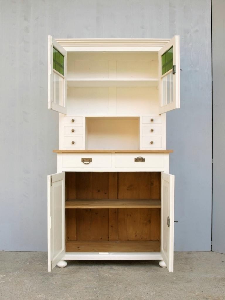 b100 buffet geschirrschrank anrichte k chenschrank shabby chic 101cm antik m bel antiquit ten. Black Bedroom Furniture Sets. Home Design Ideas