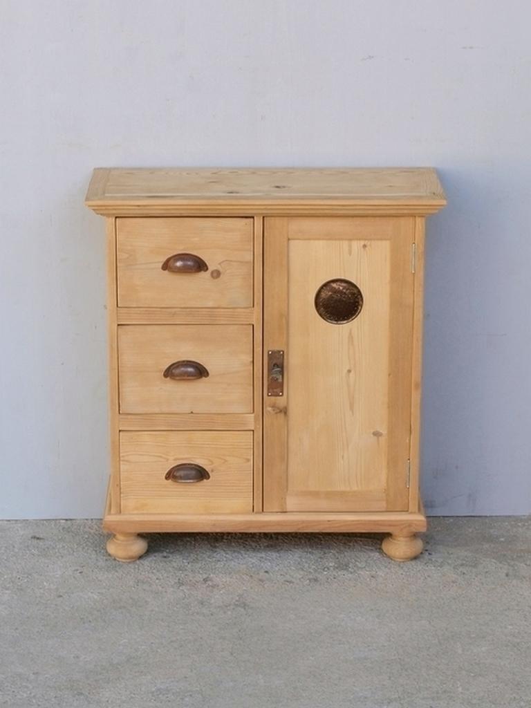 kleiner brotschrank mit 3 schubladen und einer t re nachbau neuanfertigung antik m bel. Black Bedroom Furniture Sets. Home Design Ideas