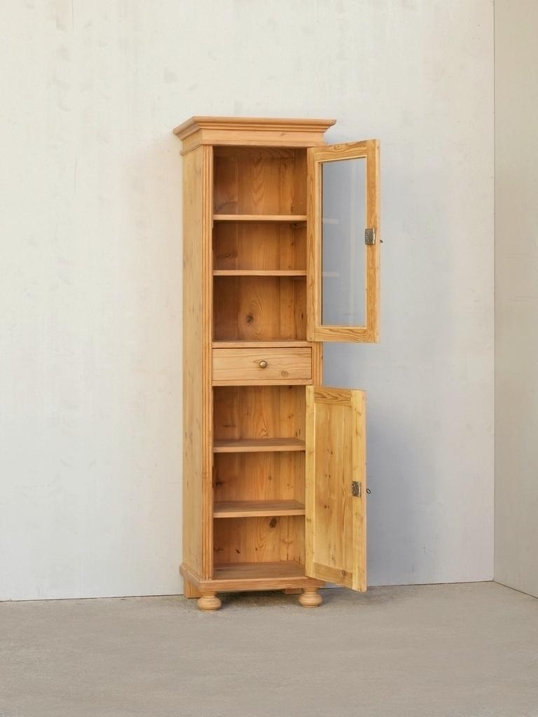 pvi1s2t schmale vitrine im gr nderzeitstil gro e auswahl. Black Bedroom Furniture Sets. Home Design Ideas