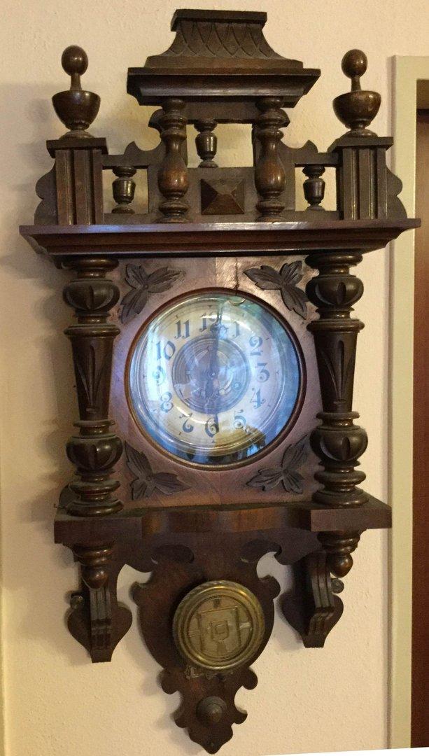 alte friesische wanduhr antik m bel antiquit ten alling. Black Bedroom Furniture Sets. Home Design Ideas