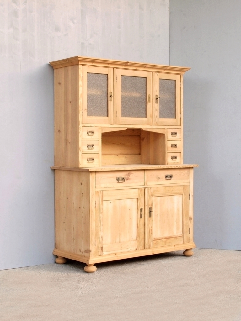altes fichtenholz k chenbuffet k chenschrank bauernbuffet. Black Bedroom Furniture Sets. Home Design Ideas