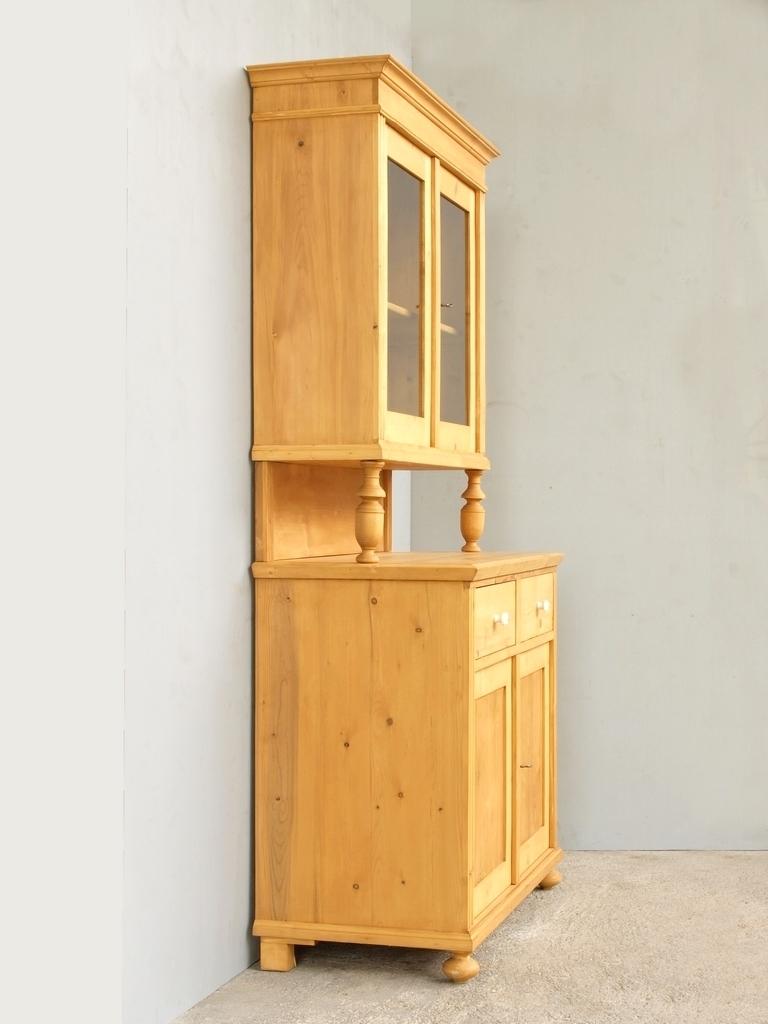 b104 k chenbuffet bauernbuffet k chenschrank im gr nderzeitstil fichtenholz 104 cm antik. Black Bedroom Furniture Sets. Home Design Ideas