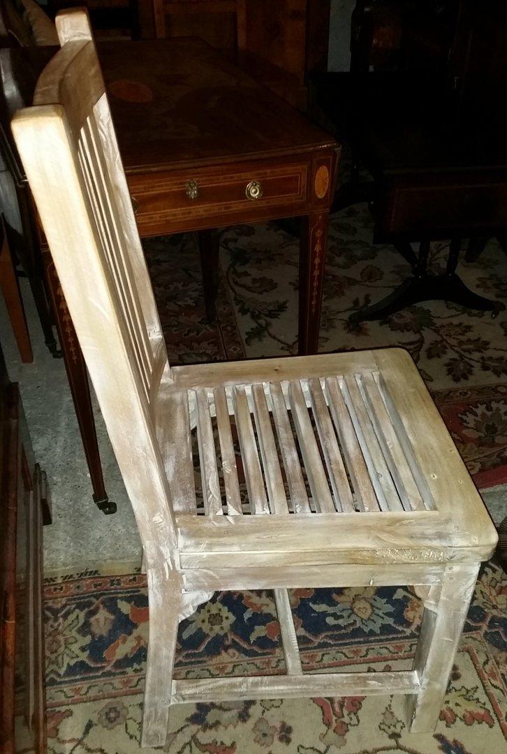 weisser stuhlsatz weisse st hle gro er satz m glich antik m bel antiquit ten alling bei. Black Bedroom Furniture Sets. Home Design Ideas