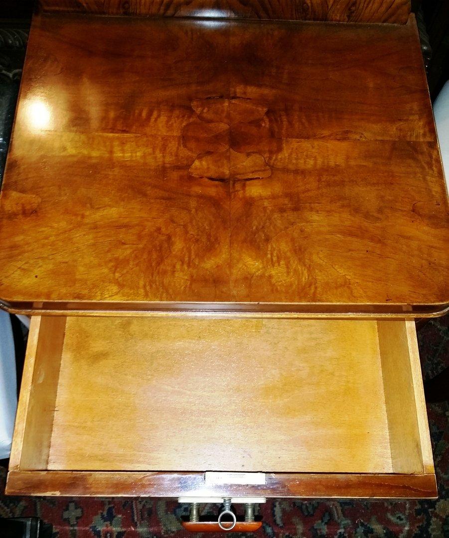 art deco k stchen nachtk stchen nachtkasterl um 1925 englisches art deco m bel antik m bel. Black Bedroom Furniture Sets. Home Design Ideas