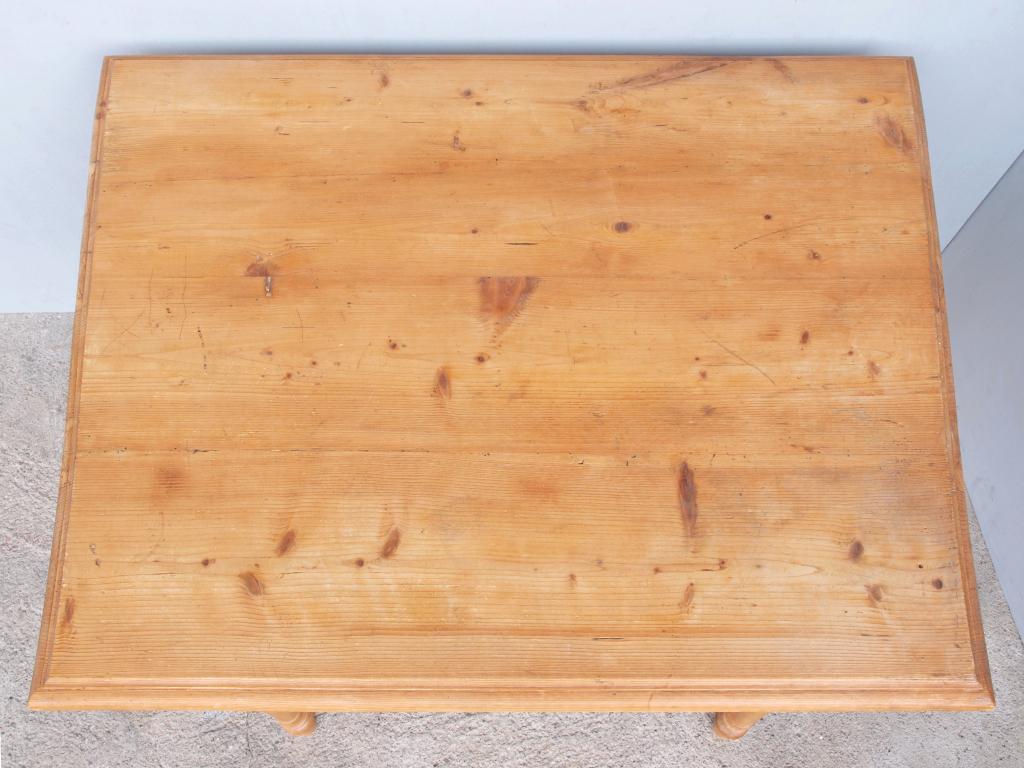 Beistelltisch antik fichte  Beistelltisch Tisch Massivholz Fichte 101 x 87 cm - Antik Möbel ...