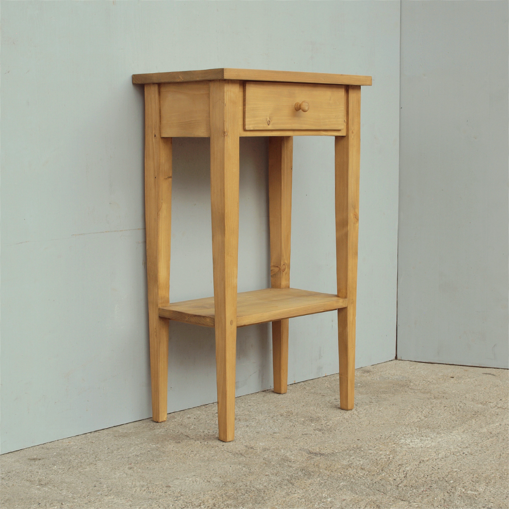 Beistelltisch antik fichte  Kleiner Beistelltisch Massivholz Fichte - Antik Möbel Antiquitäten ...