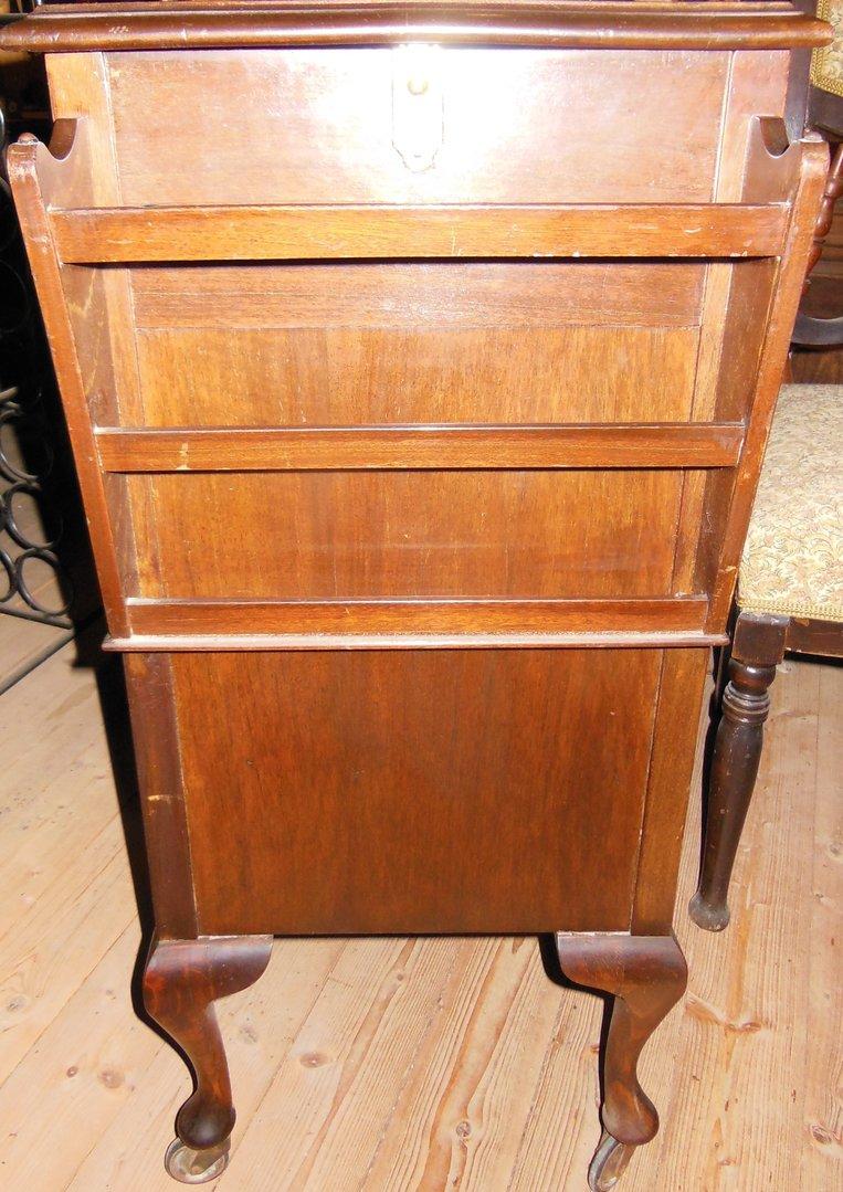zeitschriftenst nder hoch englisch art deco um 1920 30. Black Bedroom Furniture Sets. Home Design Ideas
