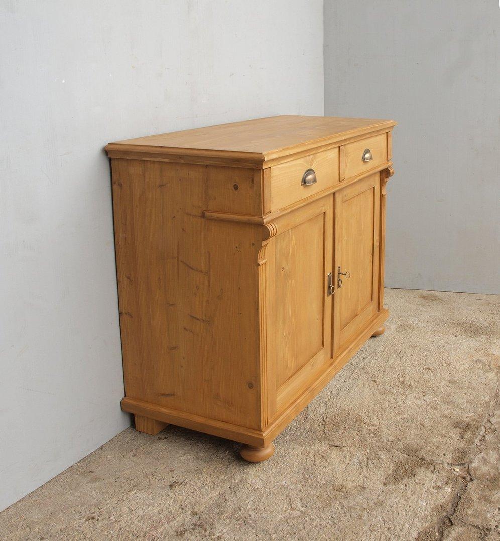 a105 anrichte 105cm lange kommode bauernm bel massive fichte. Black Bedroom Furniture Sets. Home Design Ideas