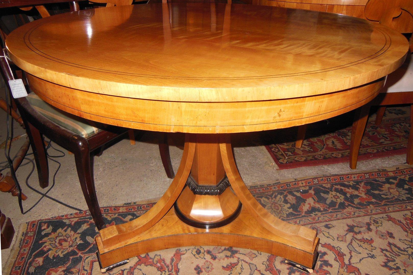 orginaler biedermeier-tisch um 1840 guter zustand restaurierung