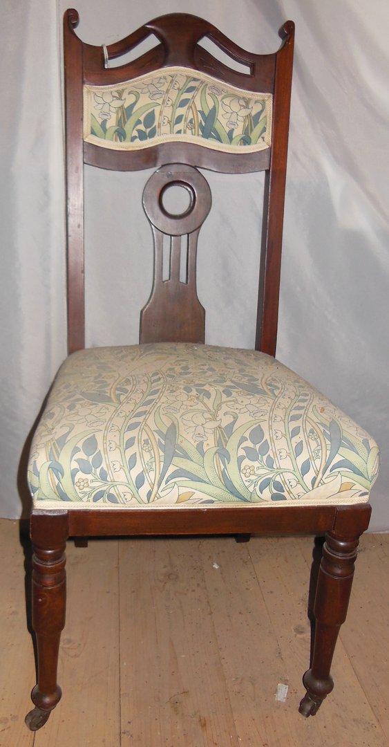 4er satz jugendstilst hle englische jugendstil st hle um. Black Bedroom Furniture Sets. Home Design Ideas