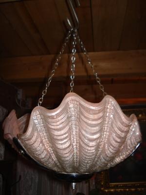 Englische Lampe orginale Art Deco Deckenlampe