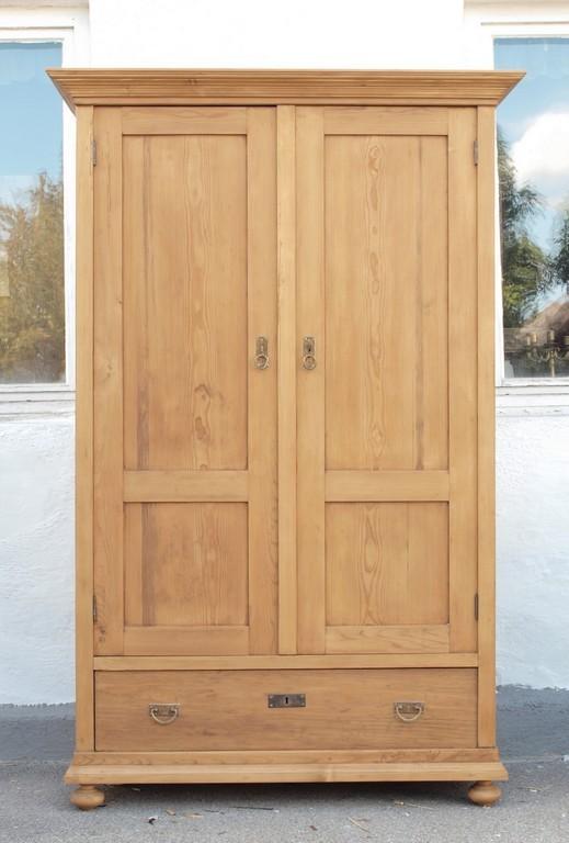 Schrank Fichte Kleiderschrank Wäscheschrank Antik Antike Möbel Und