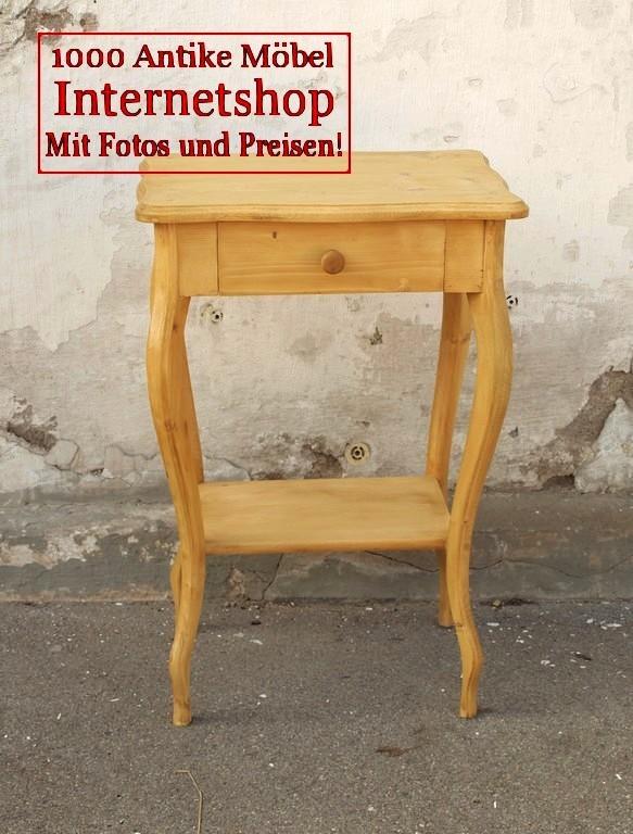Antike kleinmöbel weichholz  Tische - Antik Möbel Antiquitäten Alling bei München zwischen ...
