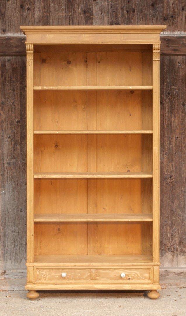 bauernregal aktenordner fichtenholz regal im grunderzeit stil nachbau neuanfertigung