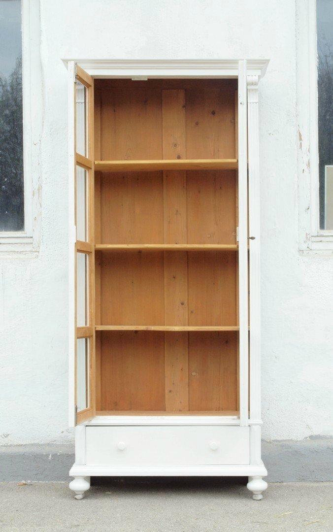 shabby chic vitrine bauernvitrine nachbau neuanfertigung antik m bel und beschl ge. Black Bedroom Furniture Sets. Home Design Ideas