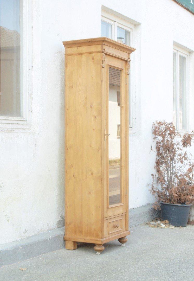 vitrine im gr nderzeitstil aus altem holz gefertigt nachbau neuanfertigung antike m bel und. Black Bedroom Furniture Sets. Home Design Ideas