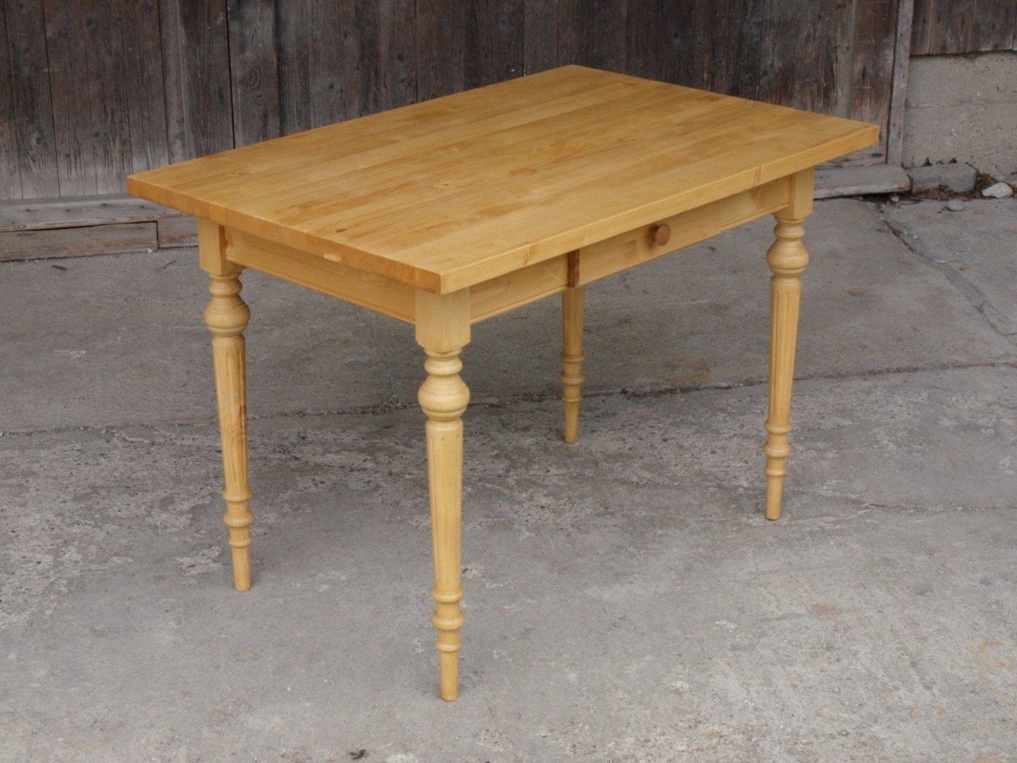 Esstisch Tisch Massivholz Fichte 120 x 80 cm mit ...