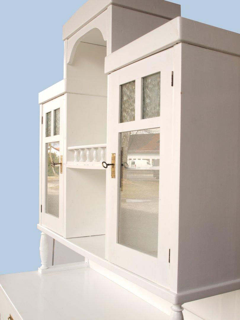 Shabby Chic Küchenbüfett Küchenschrank Bauernbüfett - Antik Möbel ...