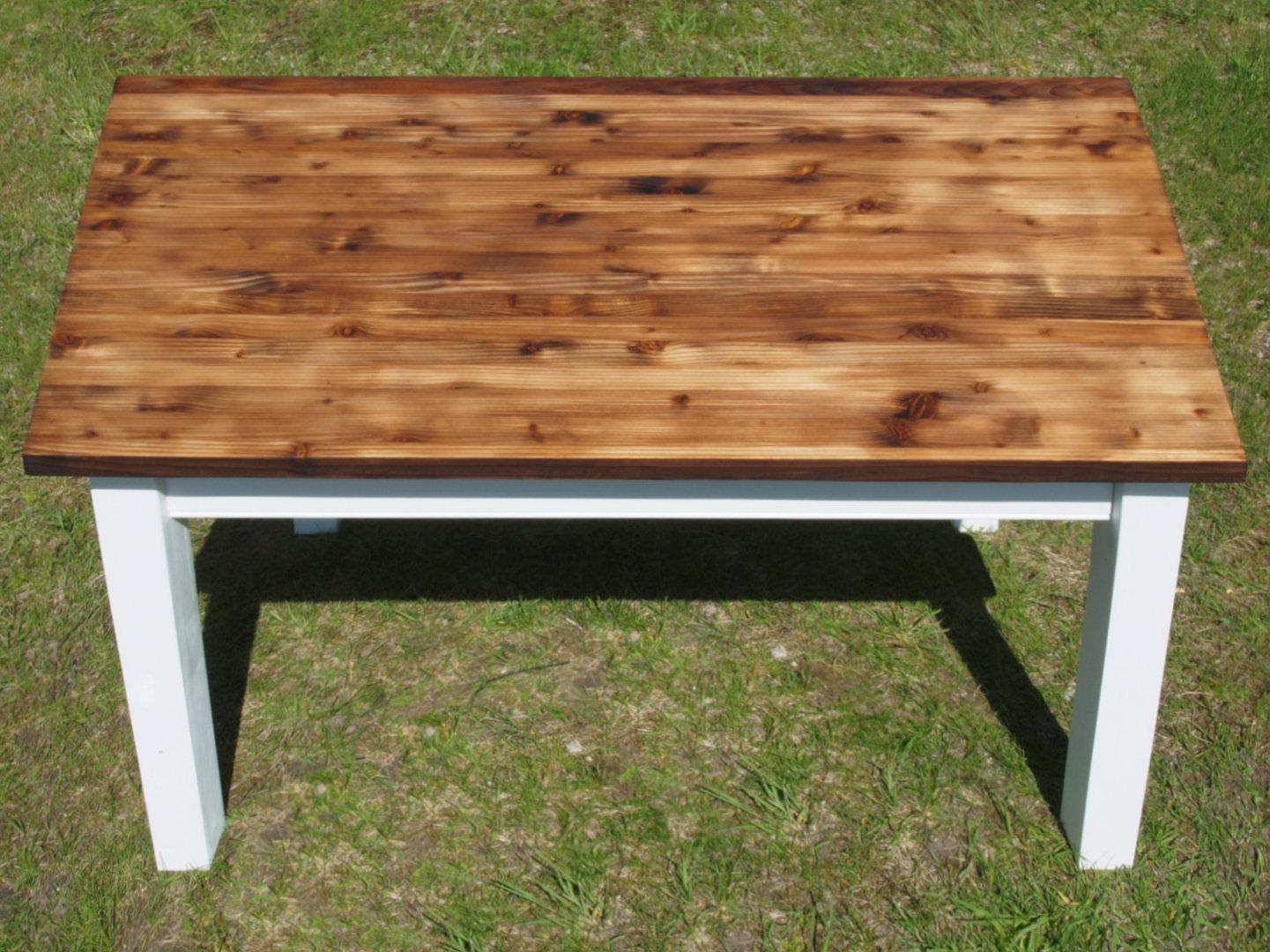 Lieblings Esstisch Tisch Massivholz Fichte 120 x 80 cm Nachbau - Antik Möbel #GE_81