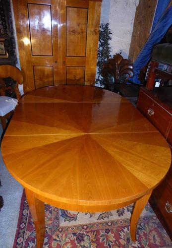 Biedermeier Art Tisch Von Bester Qualität Kirschholz Furnierter Tisch  Biedermeier
