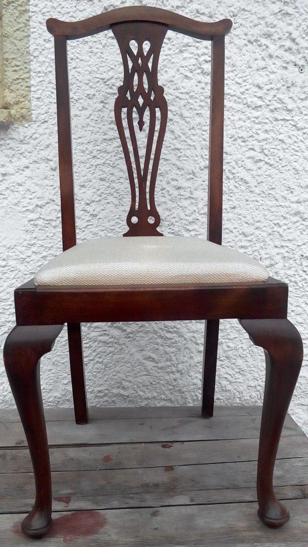 3 Er Satz Englische Jugendstil Stühle Um 1910 Englische