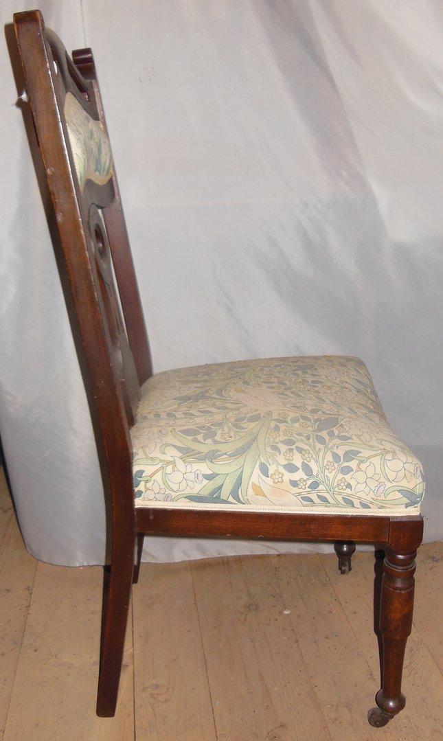 4er satz jugendstilst hle englische st hle um 1900 1910. Black Bedroom Furniture Sets. Home Design Ideas